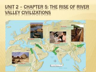 Unit 2 – Chapter 5: The Rise of River Valley Civilizations