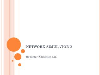 network simulator 3