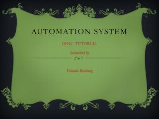 Automation system