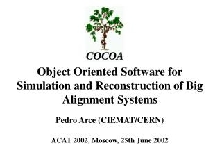 Object Oriented Software for Simulation and Reconstruction of Big Alignment Systems