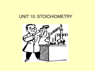 UNIT 10: STOICHIOMETRY