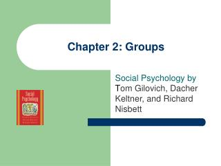 Chapter 2: Groups