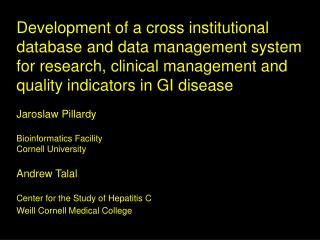 Cornell University Bioinformatics Facility