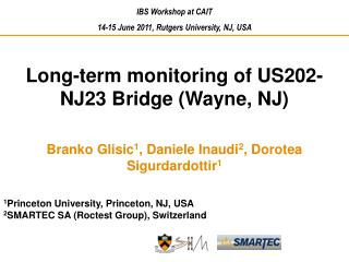 Long-term monitoring of US202-NJ23 Bridge (Wayne, NJ)
