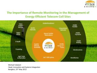 The Importance of Remote Monitoring in the Management of Energy Efficient Telecom Cell Sites