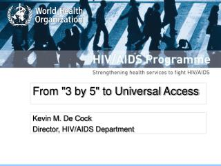 "From ""3 by 5"" to Universal Access"