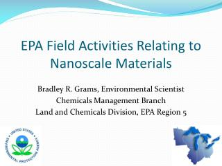 EPA Field Activities Relating to Nanoscale Materials
