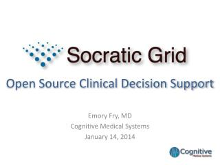 Open Source Clinical Decision Support