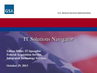 IT Solutions Navigator