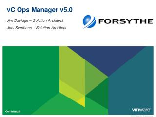vC Ops Manager v5.0