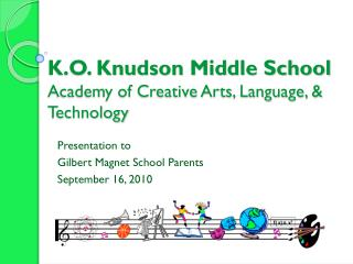 K.O. Knudson Middle School Academy of Creative Arts, Language, & Technology