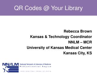 QR Codes @ Your Library