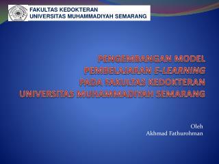 Oleh Akhmad Fathurohman