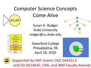 Computer Science Concepts Come Alive