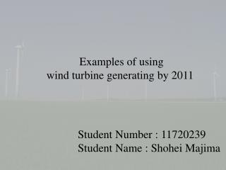 Student Number : 11720239 Student Name :  Shohei Majima