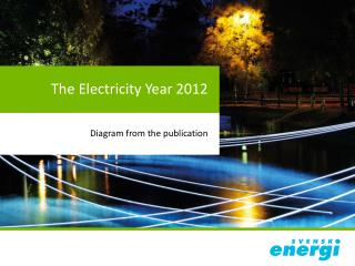 The  Electricity Year  2012