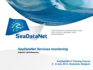 SeaDataNet  Services monitoring
