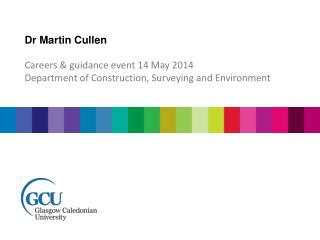 Dr Martin Cullen