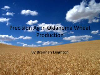 Precision Ag in Oklahoma Wheat Production