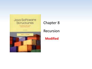 Chapter 8 Recursion