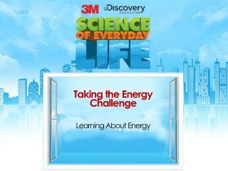 Taking the Energy Challenge