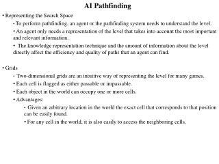 AI  Pathfinding