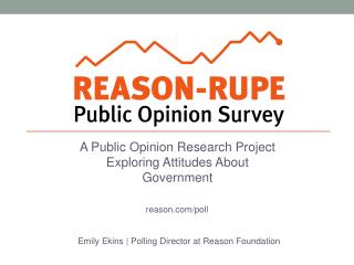 A Public Opinion Research Project Exploring Attitudes About Government