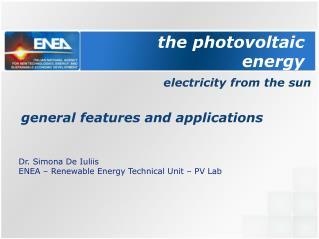 the  photovoltaic  energy