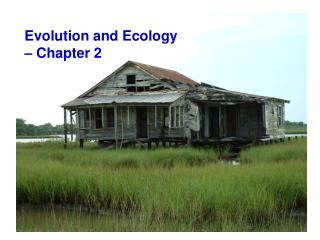 Evolution and Ecology  � Chapter 2