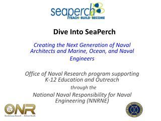 Dive Into SeaPerch