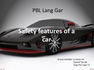 PBL  Lang Gar