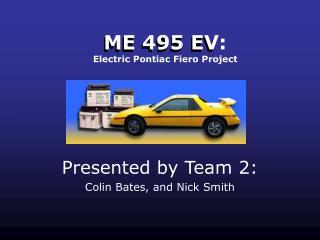 ME 495 EV