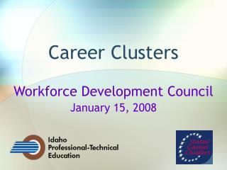 Career Clusters