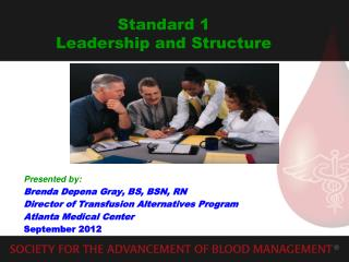 Standard 1 Leadership and Structure