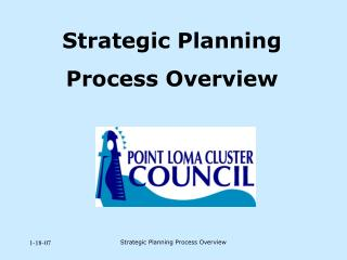 Strategic Planning  Process Overview
