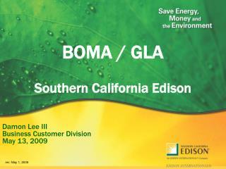 BOMA / GLA Southern California Edison