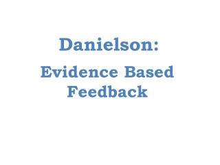 Danielson: