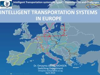 INTELLIGENT TRANSPORTATION SYSTEMS  IN EUROPE