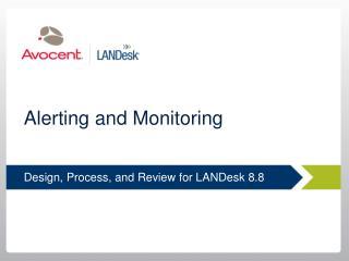 Alerting and Monitoring