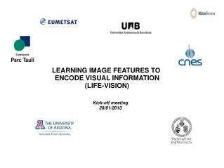 LEARNING IMAGE FEATURES TO  ENCODE VISUAL INFORMATION (LIFE-VISION)