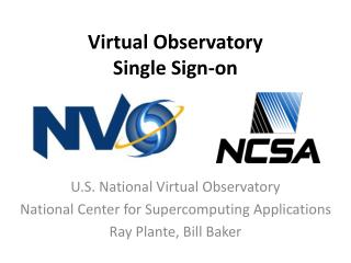 Virtual Observatory Single Sign-on