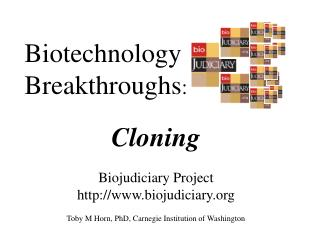 Biotechnology Breakthroughs :