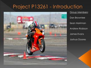 Project  P13261 - Introduction