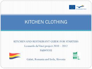 KITCHEN CLOTHING