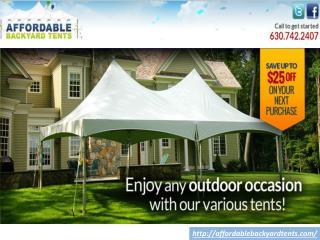 Tent Rentals in Elmhurst