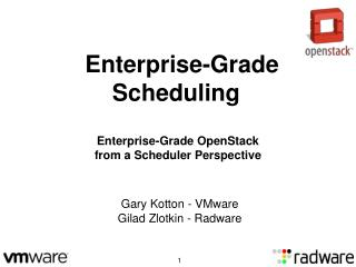 Enterprise-Grade Scheduling