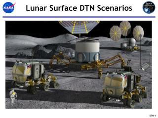 Lunar Surface DTN Scenarios