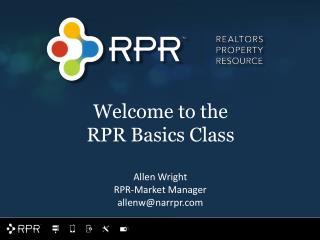 Allen Wright RPR-Market Manager allenw@narrpr