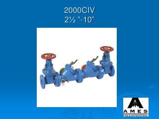 """2000CIV  2½ """"-10"""""""