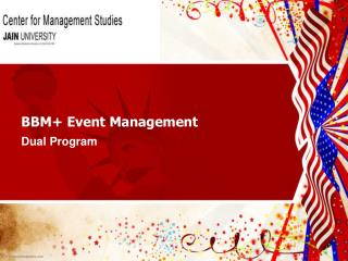 BBM+ Event Management